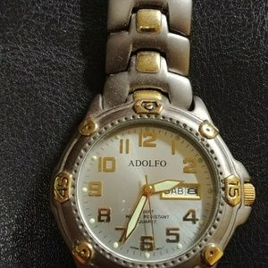 Other - Mens watch Adolfo